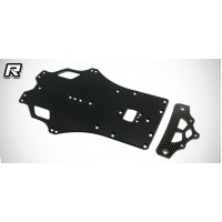 Rapide P12 EVO SWB 2.0mm Aluminum Main Chassis