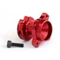 Rapide P10 Aluminum Wheel Hub, Left, Red