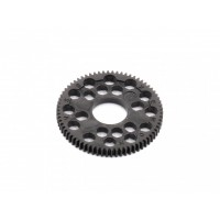 DD 64 Pitch 72T Spur Gear, Black